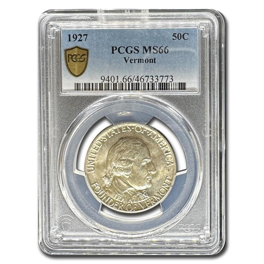 1927 Vermont Sesquicentennial Half Dollar MS-66 PCGS