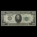 1928 (1-Boston) $20 FRN VF (Fr#2050-A)
