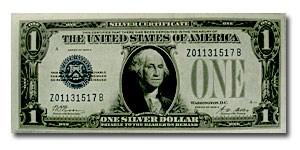 1928-A $1.00 Silver Certificates CCU (Fr#1601)
