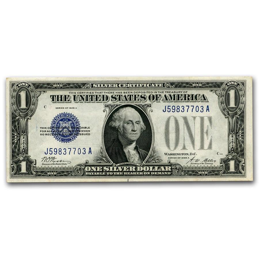 1928-A $1.00 Silver Certificates CU (Fr#1601)