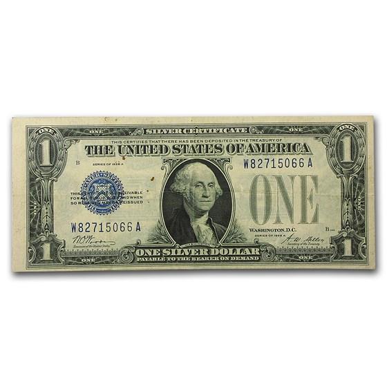 1928-A $1.00 Silver Certificates VF (Fr#1601)