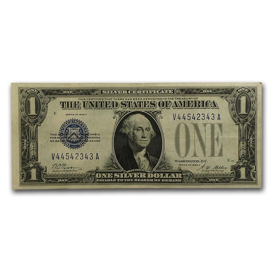 1928-A $1.00 Silver Certificates XF (Fr#1601)