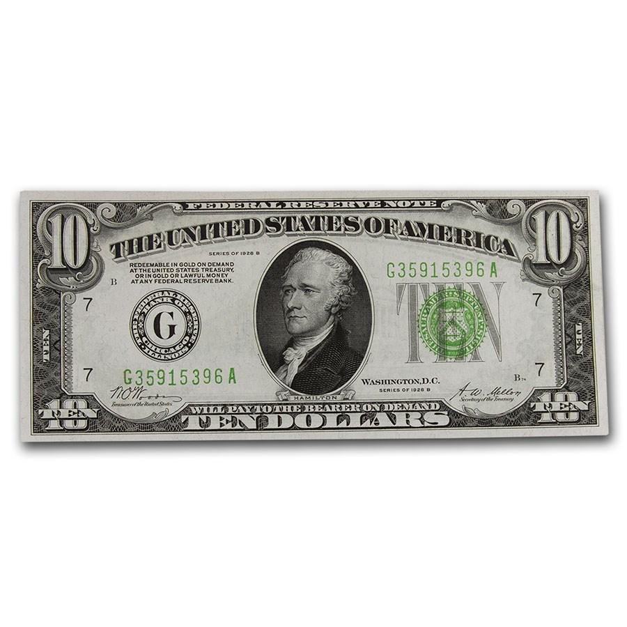 1928-B (G-Chicago) $10 FRN CU (Fr#2002-G)