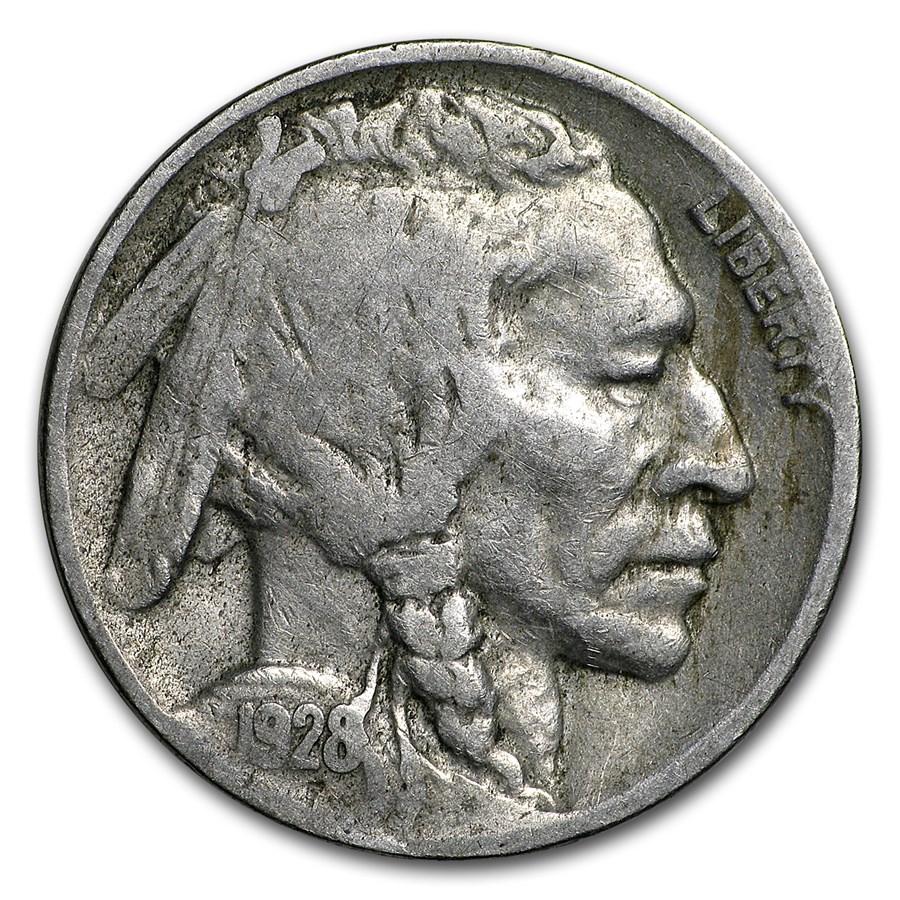 1928-D Buffalo Nickel Fine