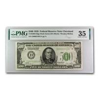 1928 (D-Cleveland) $500 FRN Choice VF-35 PMG