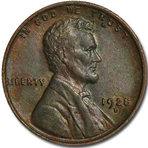 1928-D Lincoln Cent BU