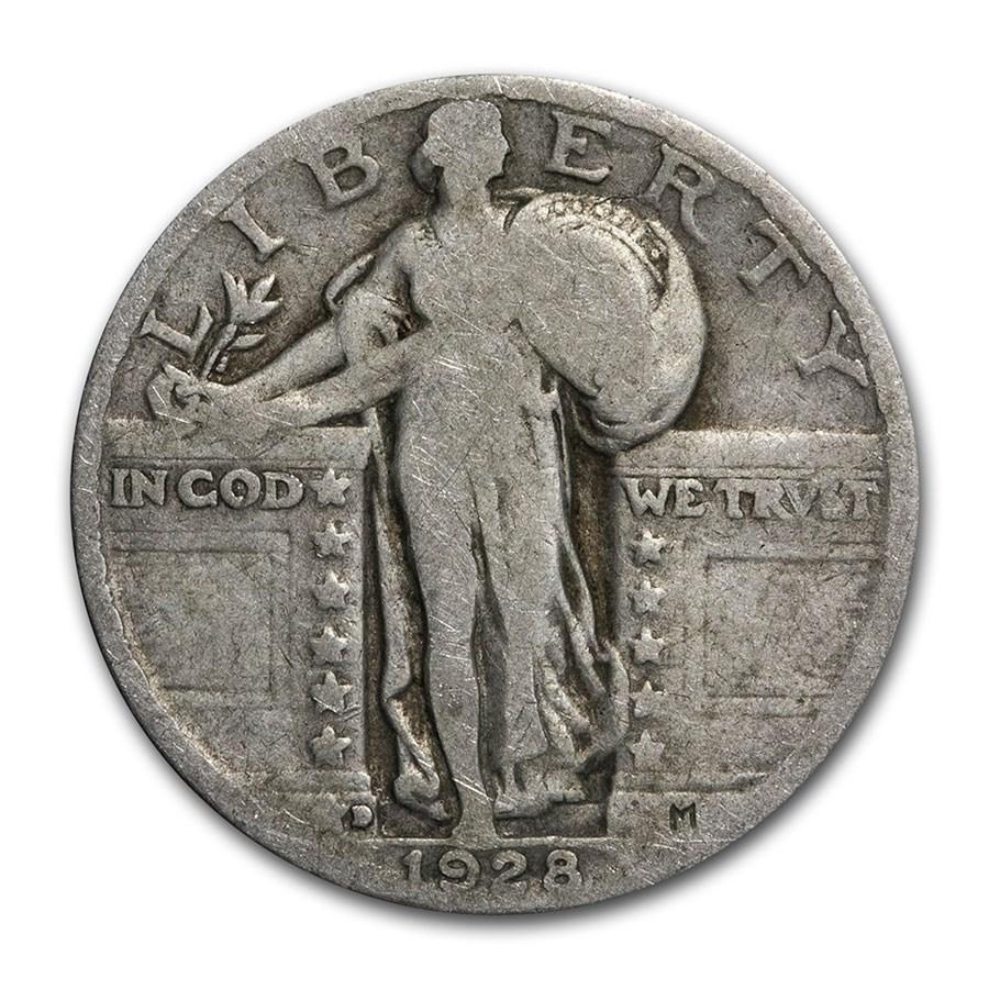 1928-D Standing Liberty Quarter Good/VG