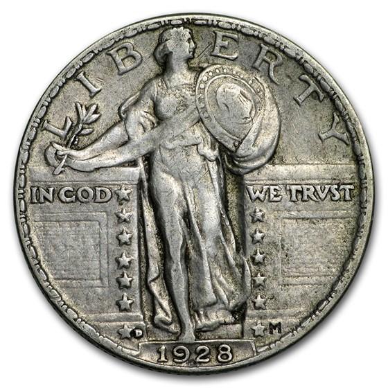 1928-D Standing Liberty Quarter VF