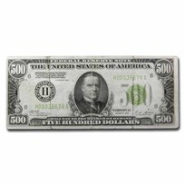 1928 (H-St. Louis) $500 FRN VF (Details)