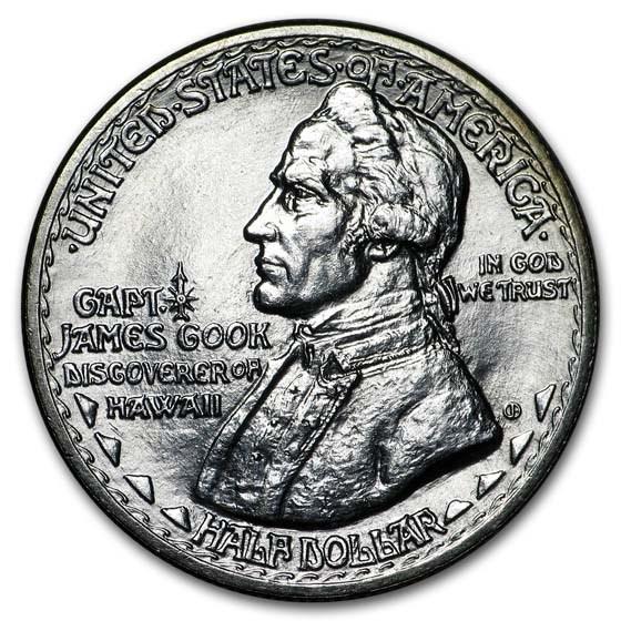 1928 Hawaiian Sesquicentennial Half Dollar BU