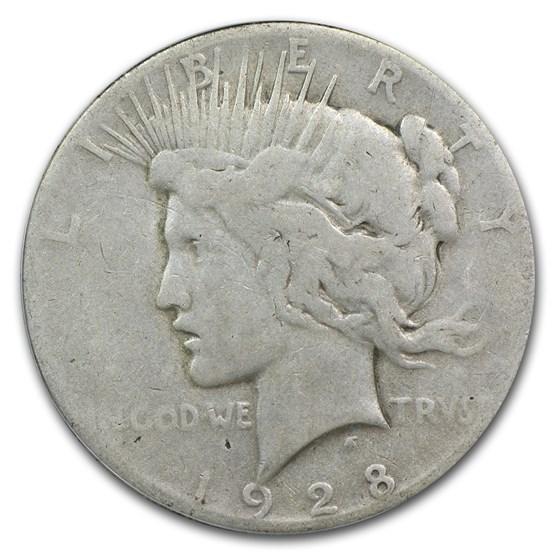 1928 Peace Dollar Good