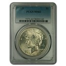 1928 Peace Dollar MS-62 PCGS