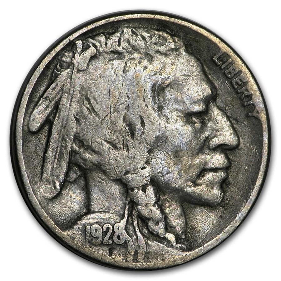 1928-S Buffalo Nickel Fine