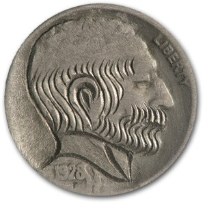 1928-S Indian Hobo Nickel (Modern)