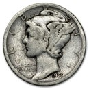 1928-S Mercury Dime Good/Fine