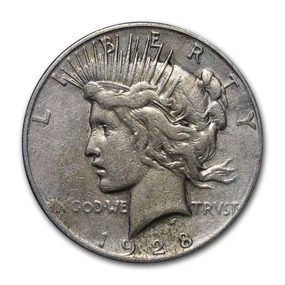 1928-S Peace Dollar Cull