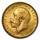 1928-SA South Africa Gold Sovereign George V BU