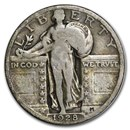 1928 Standing Liberty Quarter Good/VG