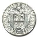 1929-A Germany Weimar Republic AR 3 Reichsmark MS-67 NGC