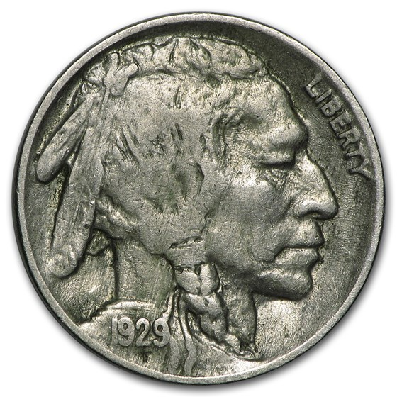 1929 Buffalo Nickel XF