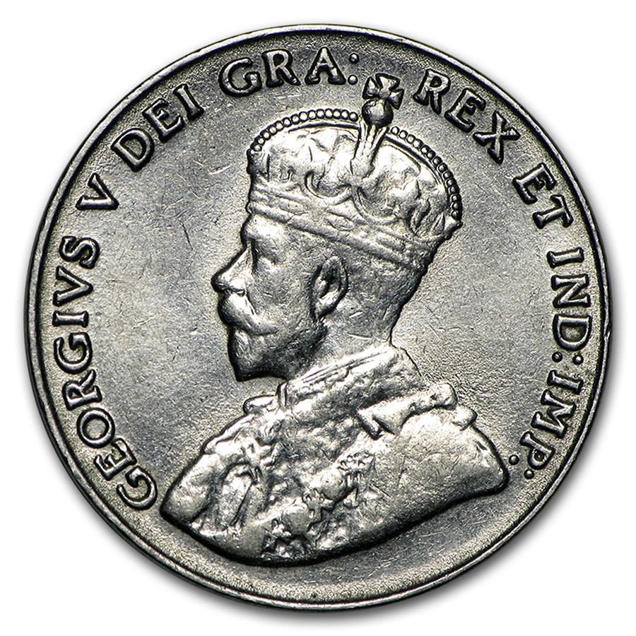 1929 Canada 5 Cents AU