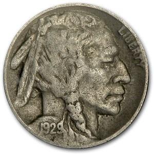 1929-D Buffalo Nickel VF