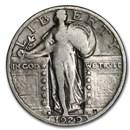1929-D Standing Liberty Quarter Good/VG