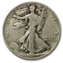 1929-D Walking Liberty Half Dollar Good/VG