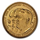 1929 Germany Weimar Republic Gold Medal PF-67 NGC (CAMEO)