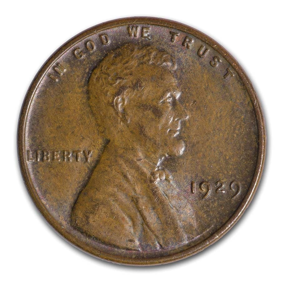 1929 Lincoln Cent BU (Brown)