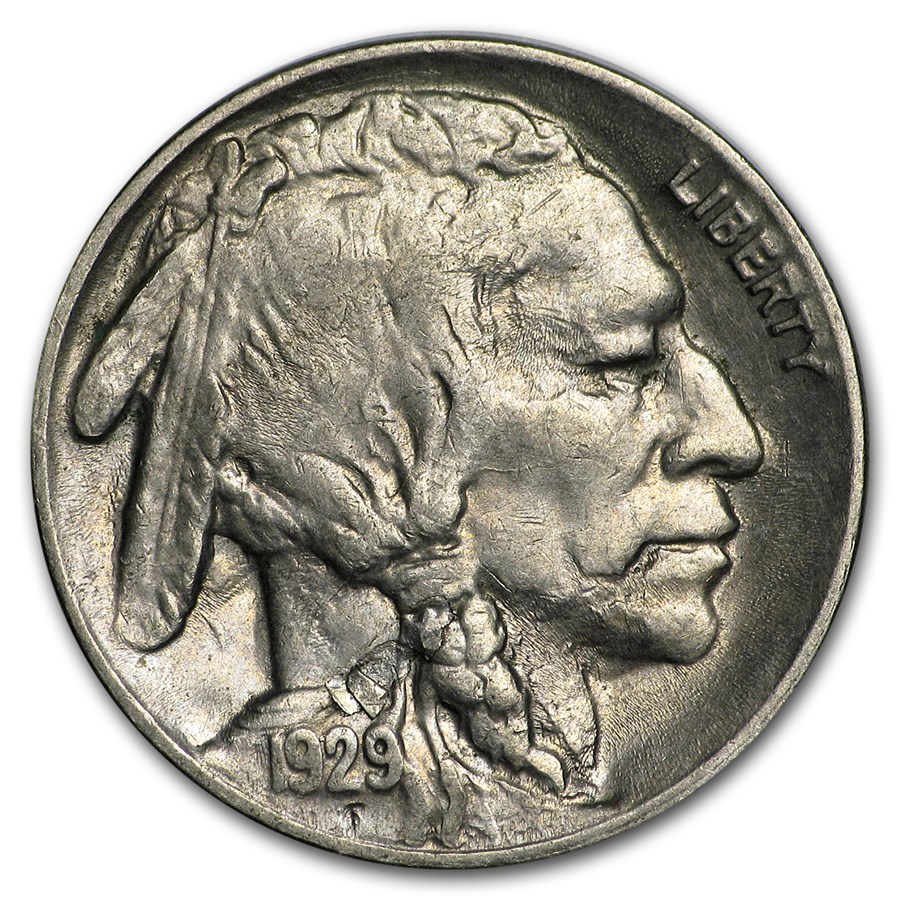 1929-S Buffalo Nickel AU