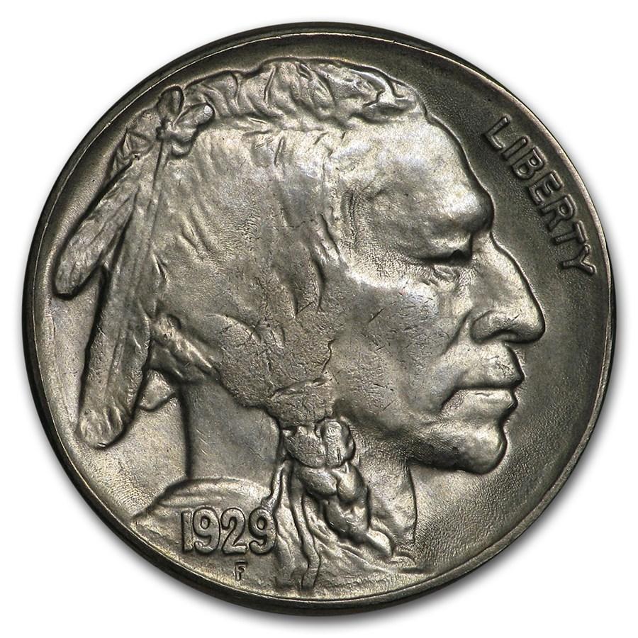 1929-S Buffalo Nickel BU