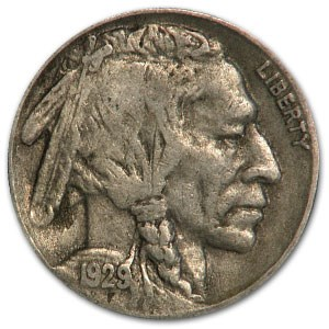 1929-S Buffalo Nickel VF