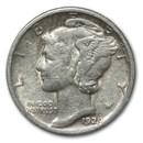 1929-S Mercury Dime XF