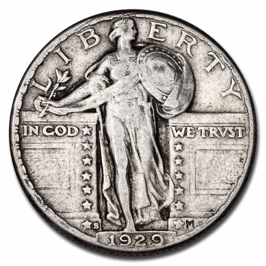 1929-S Standing Liberty Quarter VF
