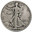 1929-S Walking Liberty Half Dollar Fine