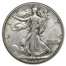 1929-S Walking Liberty Half Dollar VF