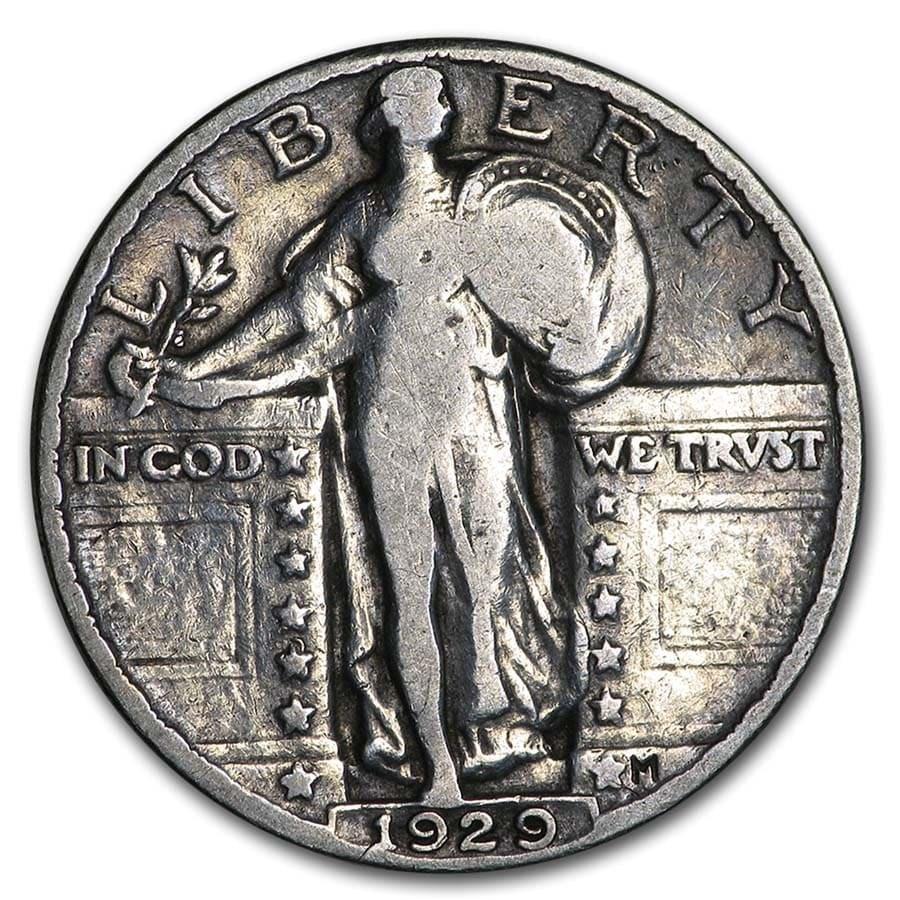1929 Standing Liberty Quarter Good/VG
