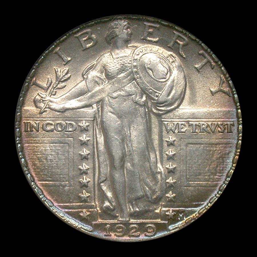 1929 Standing Liberty Quarter MS-62 NGC (FH)