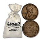 1930-1939 Wheat Cent 5,000ct Bags (All From the 1930s)