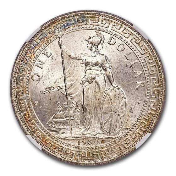 1930-B Great Britain Trade Dollar MS-65 NGC