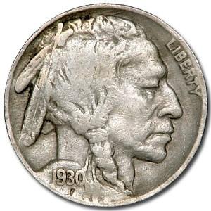 1930 Buffalo Nickel Good/VG
