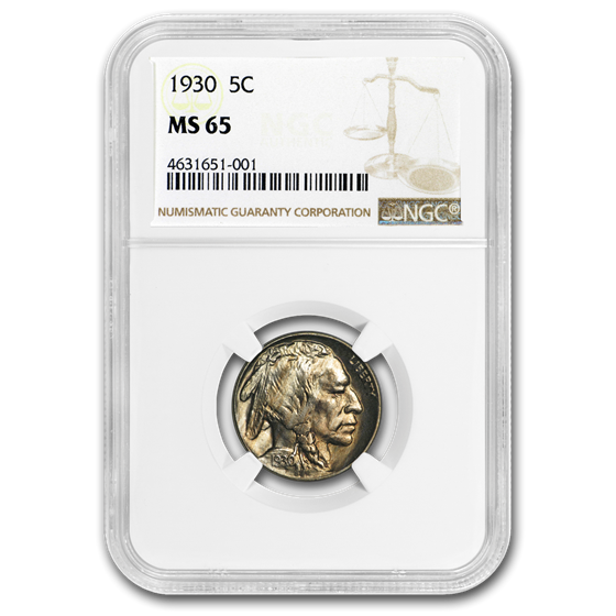 1930 Buffalo Nickel MS-65 NGC
