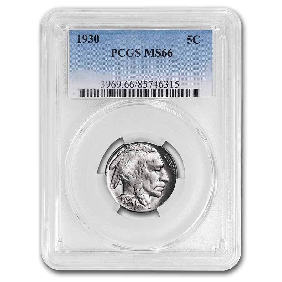 1930 Buffalo Nickel MS-66 PCGS