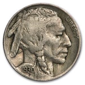 1930 Buffalo Nickel VF