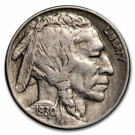 1930 Buffalo Nickel XF