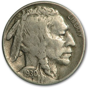 1930-S Buffalo Nickel Fine