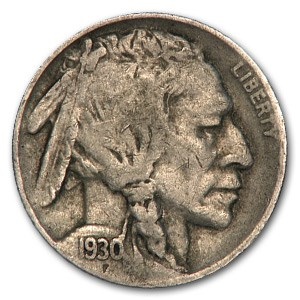 1930-S Buffalo Nickel VF
