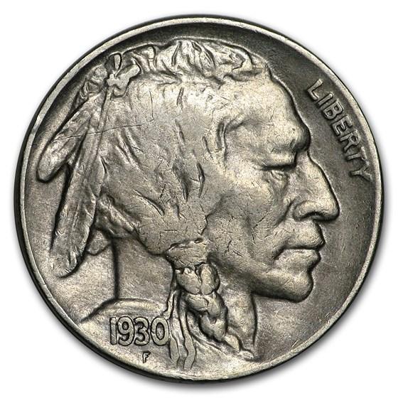 1930-S Buffalo Nickel XF