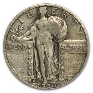 1930-S Standing Liberty Quarter Fine
